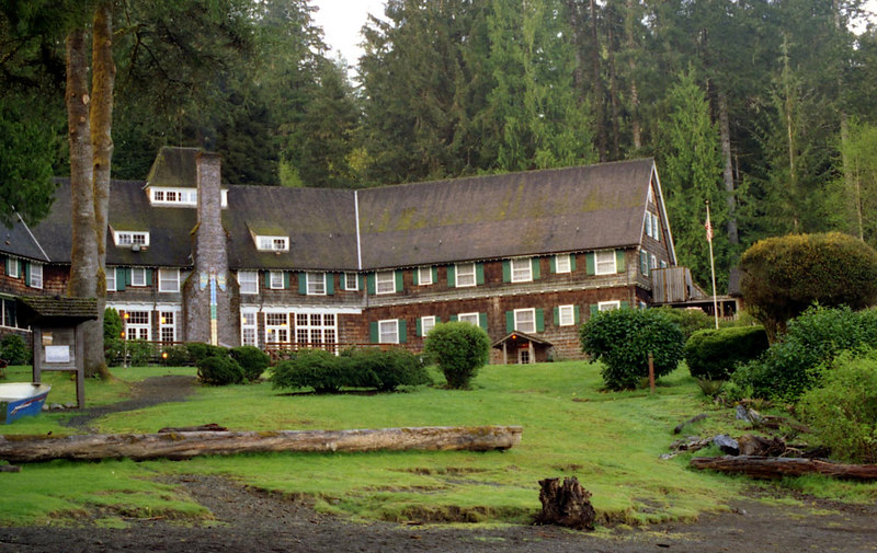 Pictures taken at or near Lake Quinault Lodge in Washington