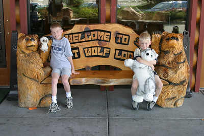 July-2003 Great Wolf with the Boys