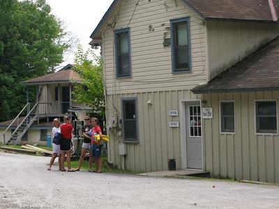 Waterskiing at 4th Lake 7-23-09