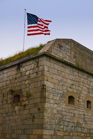 Fort Adams NE Corner