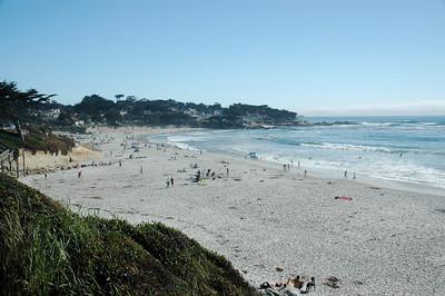 Carmel Beach on a Sunny Afternoon