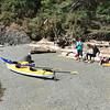 Kayaking on South Pender Island