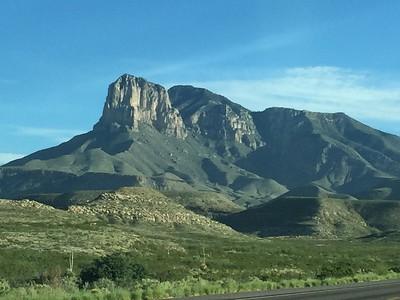 El Capitan & Guadalupe Peak from Highway 54