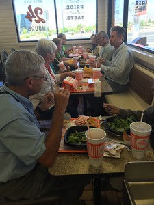 Whataburger® Lunch for Bill, MaryAnne, Stephanie, Bill, Anne, Lorrie, Bill, and Mike