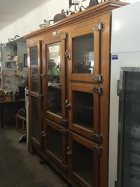 Antique Display Ice Chest @ Castolon Store/Visitor Center