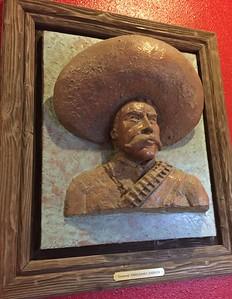 Pancho Villa [artwork] @ Lucy's Mexicali Restaurant