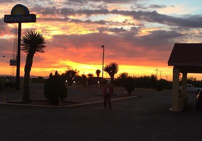 """Sunrise @ Van Horn """"Days Inn"""""""