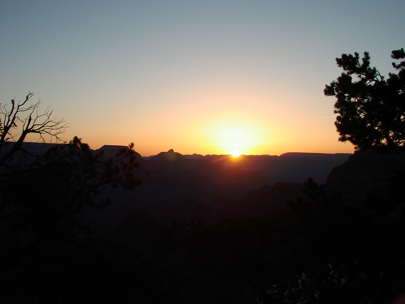 Sunrise over the Canyon (6:31 AM)