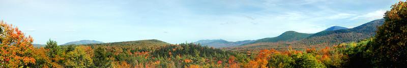 Kancamagus Highway - Scenic Rest Area a splash of Autumn colors