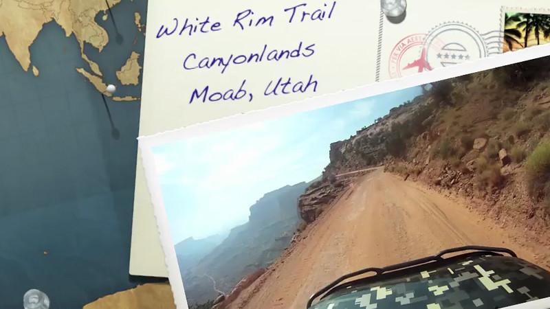 White Rim Trail by FJ Cruiser 4x4 and Cessna 172