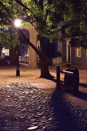 Duke of Gloucester Street at Night