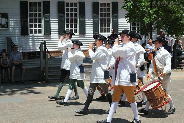 Fife and Drum on Duke of Gloucester Street