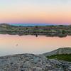 Sunrise at Elbow Lake