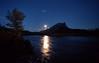 Moonrise over Sukakpak, Dietrich River, I believe.