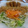 Vegetable platter, Lam's Vietnamese Restaurant, Sioux City, SD