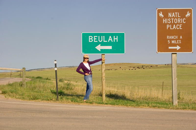 """Beulah"" is my wife Sheila's alter ego."