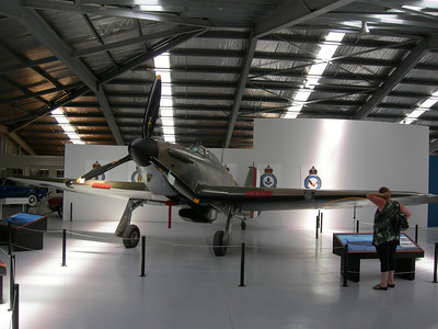 Warbirds and Wheels Museum Wanaka. Hurricane.
