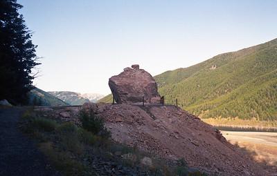 Quake lake memorial