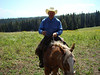 Our wrangler and guide for our horseback ride.