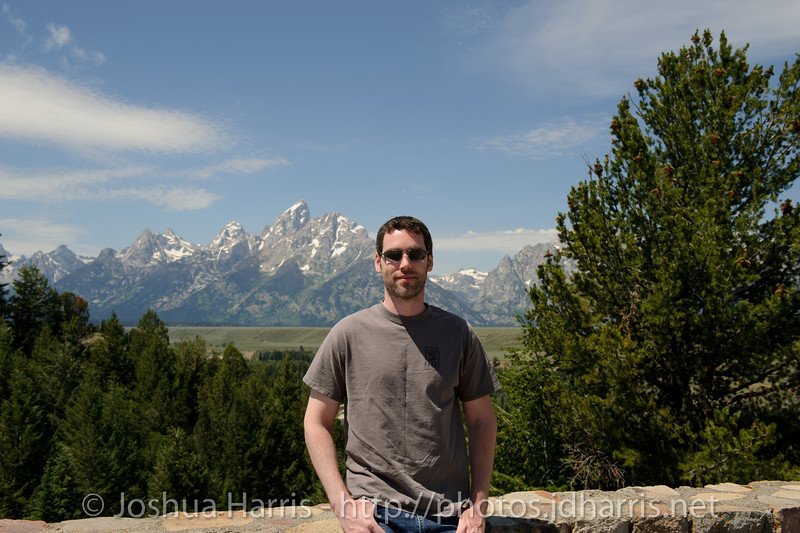 Me and the Grand Tetons