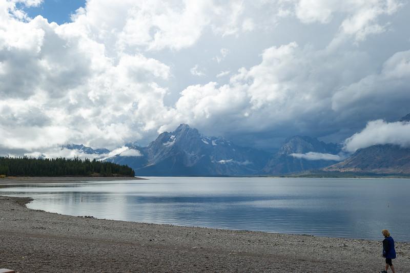 Jackson Lake from Colter Bay  Grand Teton National Park