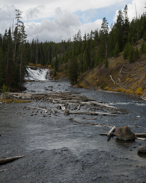 Lewis Falls  Yellowstone  National Park