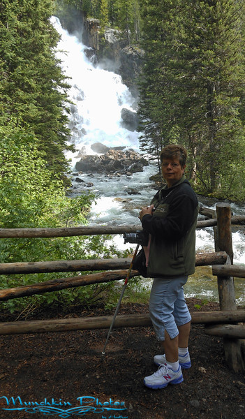 Mom at Hidden Falls