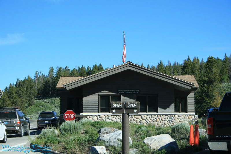 Entrance  to Grand Teton