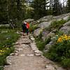 Jenny Lake trail to Hidden Falls