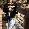 Mom with her slick stick