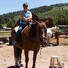 Mom on a horse