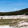 Old Faithful basin
