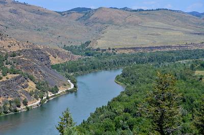 Snake River in Idaho.