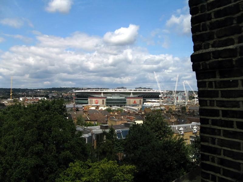 Their top storey has nice views.