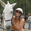 Wendy and her Mule, Roxanne  (Oprah rode Roxanne in her Yosemite campnig adventure show!)