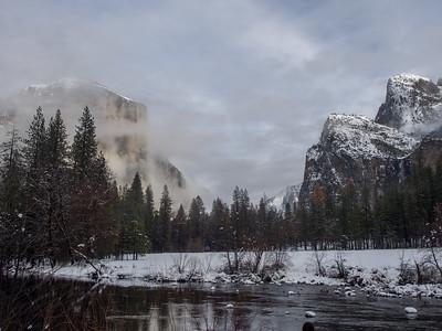 Yosemite 2016 Winter