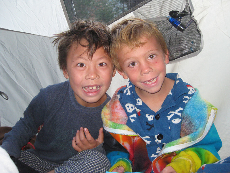Kyle and Joshua