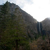 Bridal Falls, small this time of year, but still an impressive site.