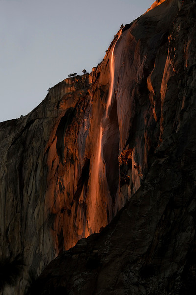 Horsetail Falls, Yosemite National Park.