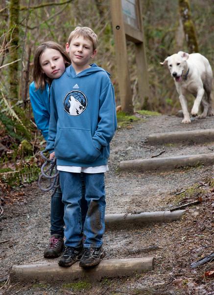 Zach & Layne, Spring Break in Seattle - 2012