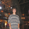 Zack at the very beautiful old faithful inn...one of MY favorite buildings in the world