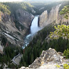 this was the Canyon (the Grand Canyon of the Yellowstone) where Zack spent his summer<br /> Not a bad backyard at all!