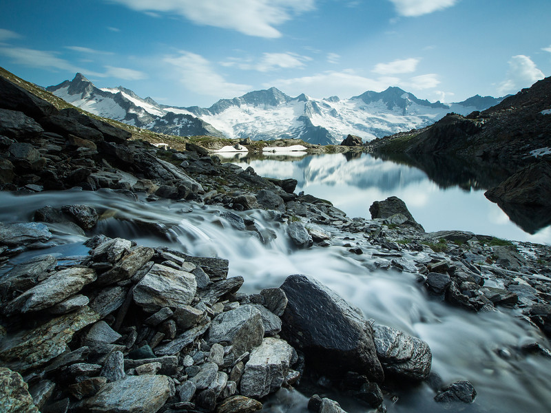 Der Schwarzsee in Tyrol