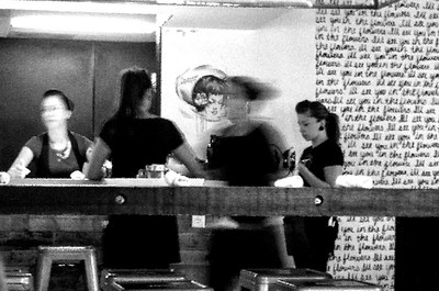 Waitresses at Work