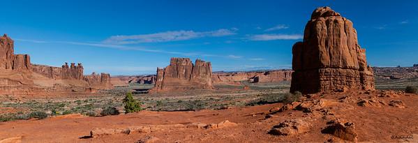Landmarks of Landscape Panorama