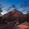 Sunset at Zion National Forest