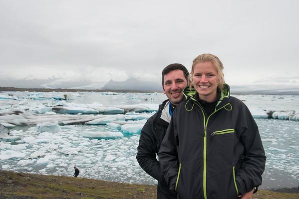 Sammi and I at the Ice-Lagoon