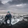 Me on an iceberg ... no big deal