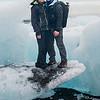 Sammi and I on an iceberg!
