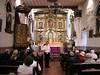 Inside Fr. Serra's chapel